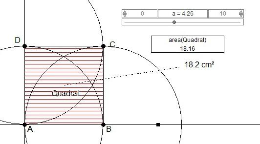 konstruktion eines quadrats mit variabler seitenl nge. Black Bedroom Furniture Sets. Home Design Ideas